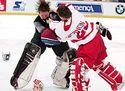 NHL - bitka brankářů - Roy vs.Vernon