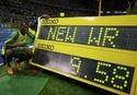 Rekord 100 m - Usain Bolt - 9,58 s
