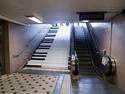 Hrající schody jako klavír