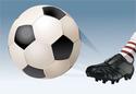 Opraveno - Fotbal - Bolestivé kopnutí do hlavy