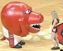 NBA - Maskot a roztleskávačka - pokračování