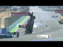 Závody GP 2 - Josef Král - vážná nehoda