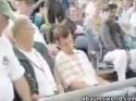 Baseball - Ospalý fanoušek
