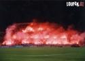 OBRÁZKY - Fotbaloví fanoušci a pyrotechnika