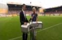 Reportérka vs. Fotbalový míč