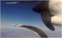 Efekt při natáčení v letadle