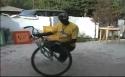 Borec - Afrika - Freestyle na kole