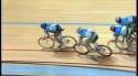 Dráhová cyklistika - Hromadná nehoda