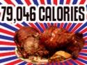 Vydatná večeře - 79 046 kalorií