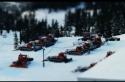 Život v lyžařském městečku