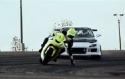 Motorka vs. Auto - Driftování