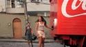 Coca Cola - náklaďák štěstí