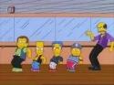 Simpsonovi - Bártova taneční skupina
