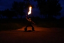 Borec - ohnivá show