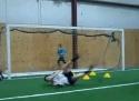 Sestřelení běžce míčem