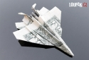 OBRÁZKY - Origami z bankovek
