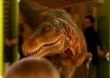 Úžasný dinosaurus straší děti
