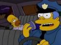 Simpsonovi - obluda s modrejma vlasama