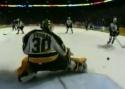 Hokej - TOP 10 - brankář Tim Thomas