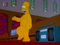 Simpsonovi - Homer tancuje v kostele