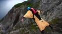 Létající oblek - Wingsuit Base Jumping
