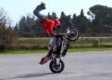 Borec na motorce Jorian Ponomareff