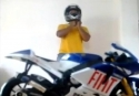 Srandovní jízda na motorce