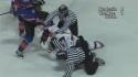 Hokej - bitka- Komárek vs. Martiník