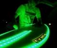 Noční surfování - LED prkno