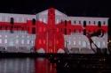 3D projekce - námořní muzeum Amsterdam