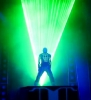 Laser show - Disney California