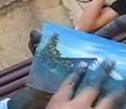 Bleskurychlé malování prsty
