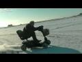 Driftování na vozíčku - 112 km/h