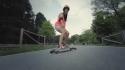 Sexy holky na longboardech