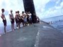 Koupání na ponorce