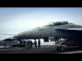 Stíhačky F-18 na letadlové lodi