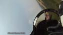Stíhačka F18 - Pohled z kabiny