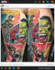 GALERIE - Nejpovedenější tetování se superhrdiny