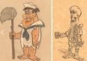 GALERIE - Kreslené postavičky jako kostry 2
