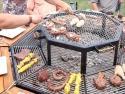 Grilovací stůl pro celou rodinu