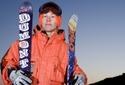 Akrobacie na lyžích - double front flip