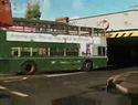 Crashtest - dvoupatrový autobus