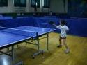 Stolní tenis a 6-ti letá holčička