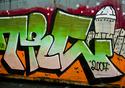 Borec - Umělecké graffiti