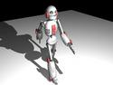 Robot umí chodit jako člověk