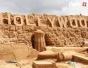 OBRÁZKY - Úžasné výtvory z písku