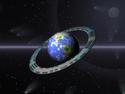 Kdyby měla planeta Země prstenec