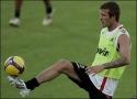 Borec - Žonglování s fotbalovým míčem