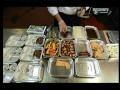Jak se dělá jídlo v letadle
