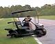 Nadupaný golfový vozík
